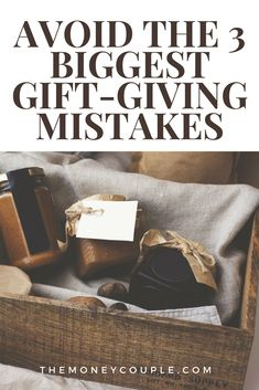 There is a way to find joy for everyone in the gift-giving process this year if you avoid these three gift-giving mistakes: #holidayshopping