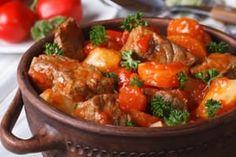Georgian Cuisine, Keto Recipes, Healthy Recipes, Goulash, Batch Cooking, Russian Recipes, Salad Bar, Stew, Curry