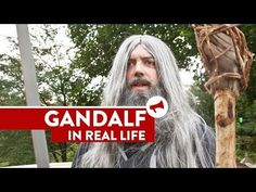 """Gandalf trying his """"You Shall Not Pass"""" spell in real life"""