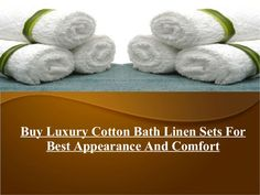 Buy #Luxury #Cotton Bath #Linen Sets In Attractive Collection For Best Appearance And Comfort at Eurospa.co.in