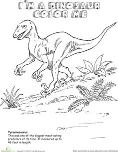 Dig Into Dinosaurs 15 Dino Coloring Pages
