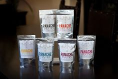 Click on this picture to buy! $7.00 Panache gourmet crumbs are made from a blend of a variety of artisan breads. They are made fresh with no added preservatives or fillers.    Best described as unique and versatile, Panache gourmet bread crumbs are meant to sprinkle, top or coat just about anything! They add the perfect flair to vegetables, meat, pork, poultry & seafood.    Whether you prefer to bake, grill or fry, Panache bread crumbs will take your meals from ordinary to extraordinary!