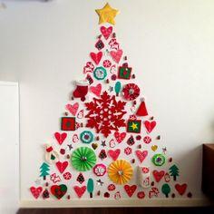 インテリア:ウォールデコ★クリスマスツリー