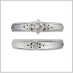 Double Trinity Diamond Bridal Set