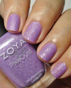 Zoya Stevie ~ purplepolish texturedpolish wishlist
