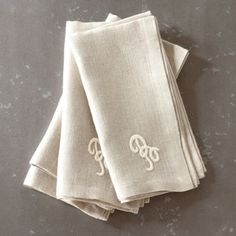 Marseille Linen Napkins traditional table linens