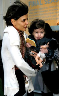 Katie Holmes & Suri from The Big Picture: Today's Hot Photos Celebrity Pics, Cute Celebrities, Katie Holmes, Online Gallery, Big Picture, Hottest Photos, Breeze, Cruise, Cookie