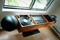 The Clairtone Project (Stereo Console) - 1966 Radios, Dj Table, Tables, Sound Room, Dj Setup, Dj Booth, Dj Equipment, Plastic Design, Record Players