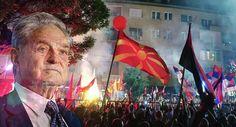 Organisation von George Soros hinter Massenprotesten in Mazedonien