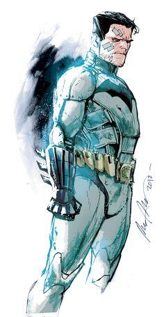 Unmasked Batman by Rafael Albuquerque