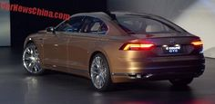 Volkswagen C Coupe GTE concept debuts on the Shanghai Auto Show in China +http://brml.co/1DIy9be