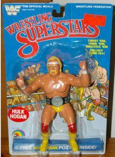 Vintage 1988 Hulk Hogan WWF WWE Poster 22 X 34  NEW SEALED Titan Sports