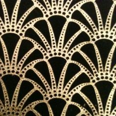 Art Deco Patterns Gold Art deco pattern design