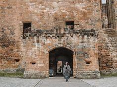Entrance to Linlithgow Palace Dean Castle, Carlisle Castle, Outlander Locations, Wentworth Prison, Scotland Tours, Edinburgh City, Prague Castle, Filming Locations, Palace