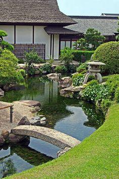 Korakuen Enyotei garden, Okayama, Japan