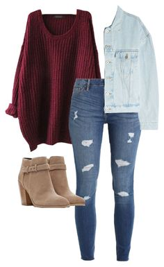 """""""#281"""" by mintgreenb on Polyvore featuring WithChic, Hollister Co. and Yeezy by Kanye West"""