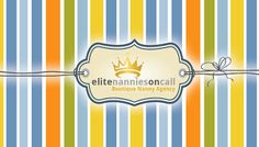 VISIT OUR NEW BLOG AT http://miaminannies.blogspot.com/ OR OUR WEBSITE AT http://www.elitenanniesoncall.com