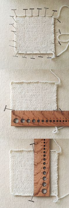 How to knit a hat, part 2: Gauge and size