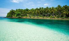 Calm warm waters in front of the luxurious but  low-key Away resort, Koh Kood. Photograph: Alamy