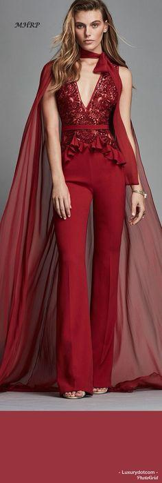 Zuhair Murad Orient Red #luxurydotcom