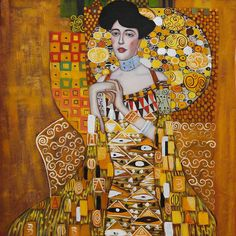 "Gustav Klimt ""Adele Bloch Bauer I"", 1907"