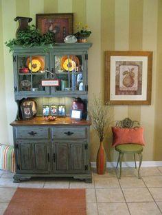 High Quality Distressed Buffet/Hutch   Eclectic   Kitchen   Other Metro   By Calhoun  Painting Company