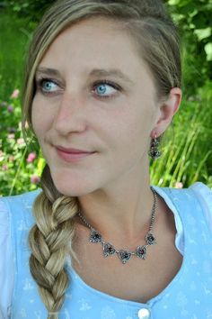 Crochet Necklace, Chain, Jewelry, Fashion, Necklaces, Brooches, Neck Chain, Stud Earring, Dirndl