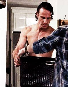 Andrew Lincoln on The Walking Dead
