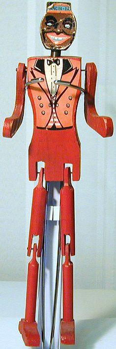 dancin_dan.jpg (250×751) Paddle doll or puppet