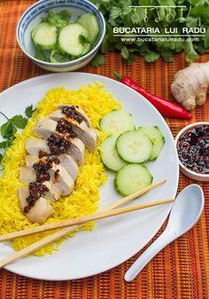 Pui Malaezian. Pui aromat cu ingrediente asiatice, orez si ardei iute. Chicken rice. Tacos, Mexican, Cooking, Ethnic Recipes, Food, Kitchen, Eten, Meals, Cuisine