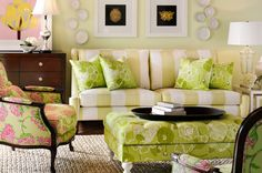 Lilly Pulitzer Upholstery Fabric   ... already feel the juicy lacquered furniture with the iconic upholstery