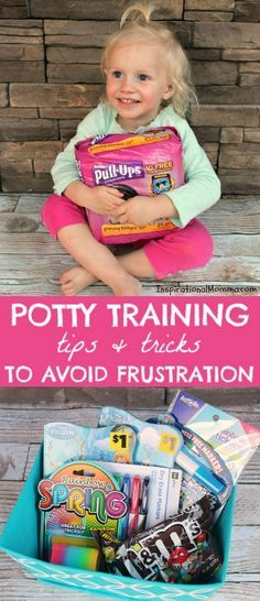 Check out these Potty Training Tips & Tricks to Avoid Frustration! Get yourself prepared to attack this adventure in a way that will guarantee success! #ad @DollarGeneral @Pull-Ups