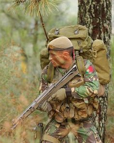 Portuguese Special Forces during training SIG SG 543