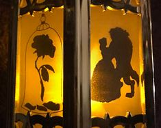 Disney - Beauty and the Beast Inspired - Battery-Operated Plastic Mini Lantern Disney Belle, 6 Images, Paper Pop, Homemade Art, How To Make Lanterns, Disney Beauty And The Beast, Wedding Favors For Guests, Nightlights, Paper Tags