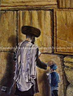 Oil paintings on Jewish life themes. Museum quality Giclee prints for sale. Jewish culture reflected in art. Choose from a top quality selection of art in our online artgallery. Jewish High Holidays, Arte Judaica, Israel History, Biblical Hebrew, Early Christian, Pre Raphaelite, Jewish Art, Artists Like, Beautiful Paintings