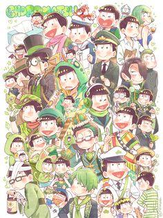 No choro, no life ~☆ Manga Anime, Anime Art, Hiroshi Kamiya, Comedy Anime, Ichimatsu, Noragami, Artist Names, Good Notes, Me Me Me Anime