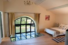 Truly a bedroom with a view - Mill End - The Water Mill - France - Family Friendly Holidays