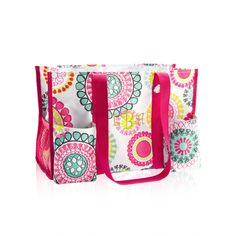 Organizing Utility Tote -- a practical & pretty way to stay organized this summer, as you run here and there...and here and there....