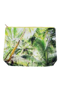 """This foresty fun pouch is perfect as a gift or just for yourself. You can fit just about anything in it from makeup to chargers, this pouch is universal.    Dimensions: Height 12"""" Zipper Opening: 14"""" Gusset: 3""""   Jumbo Pouch by Samudra. Bags - Cosmetic Pouches Oklahoma"""