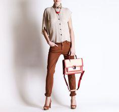Christine Phung SS2013 Artab Bag #ModeWalk #luxury #fashion #ChristinePhung #bag