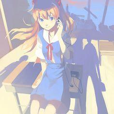 Tags: Anime, Shadow, Neon Genesis Evangelion, Vofan, Souryuu Asuka Langley