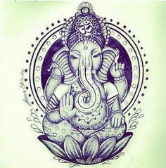 Ganesha is one of the most distinctive Hindu deities, with his large elephant head and pot-bellied human body. Known as the Lord of Obstacles, Ganesha has a dual role of removing obstacles as well as creating obstructions for those whose hubris and ambition have become destructive.