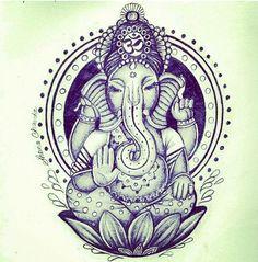 Ganesha elephant.