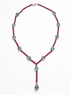 Ruby and Tahitian Pearl Necklace by Assael on Gilt.com