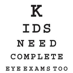Call us for an eye appointment!