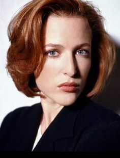 Gillian Anderson. those were the days