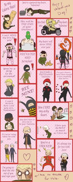 MGS3 Valentines. Man that last one really gets to the point.
