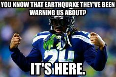 When Seattle Seahawks running back Marshawn Lynch takes center stage at Super Bowl XLVIII, expect there to be as much talk about Skittles as there is about his on-field performance. Seahawks Football, Seahawks Fans, Nfl Football Teams, Football Love, Football Baby, Seattle Seahawks, Football Humor, Football Shirts, Rick Ross