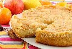 Самый вкусный яблочный пирог, который мне доводилось пробовать. Очень нежный и фруктовый пирог на тонком рассыпчатом тесте, наполнит ваш дом особым ароматом свежей выпечки. По желанию яблоки можно посыпать корицей. Пирог остается нежным и вкусным и на следующий день.