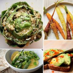 40 Healthy Vegetable Recipes - holy crap I looked through these and they look AMAZING. Lots of vegan, vegetarian, and pescetarian recipes.